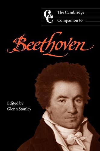 9780521580748: The Cambridge Companion to Beethoven (Cambridge Companions to Music)