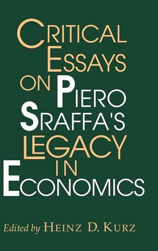9780521580892: Critical Essays on Piero Sraffa's Legacy in Economics Hardback