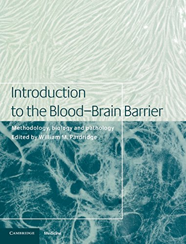 9780521581240: Introduction to the Blood-Brain Barrier: Methodology, Biology and Pathology