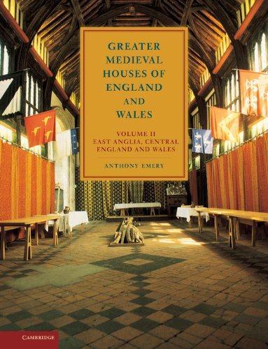 9780521581318: Greater Medieval Houses of England and Wales, 1300-1500 Volume II: East Anglia, Central England and Wales