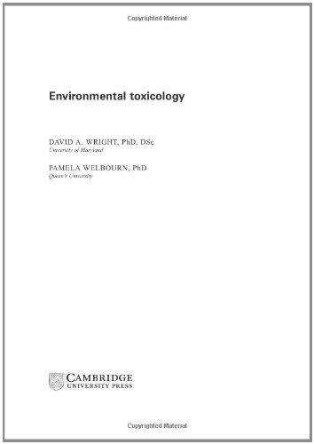 9780521581516: Environmental Toxicology (Cambridge Environmental Chemistry Series)