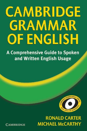 9780521581660: Cambridge Grammar of English Hardback: A Comprehensive Guide