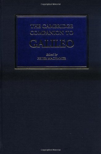 9780521581783: The Cambridge Companion to Galileo (Cambridge Companions to Philosophy)