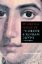 9780521582124: Women and Society in Greek and Roman Egypt: A Sourcebook