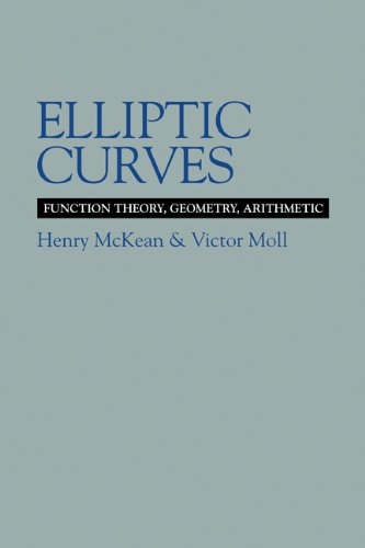 9780521582285: Elliptic Curves: Function Theory, Geometry, Arithmetic (Cambridge Tracts in Mathematics)