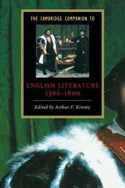 9780521582940: The Cambridge Companion to English Literature, 1500-1600 (Cambridge Companions to Literature)