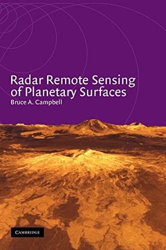 9780521583084: Radar Remote Sensing of Planetary Surfaces (Topics in Remote Sensing)