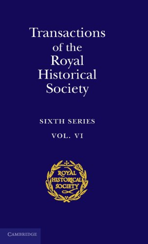 9780521583305: Transactions of the Royal Historical Society: Volume 6: Sixth Series: Series 6 (Royal Historical Society Transactions)