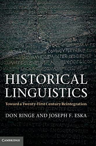 9780521583329: Historical Linguistics Hardback
