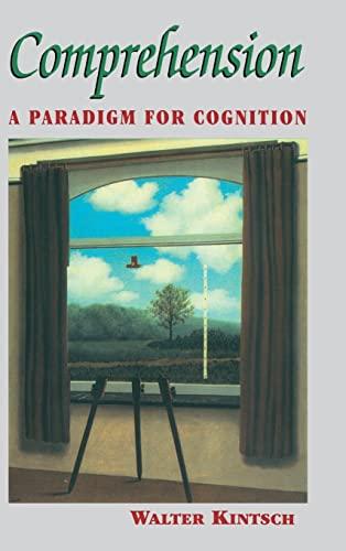 9780521583602: Comprehension: A Paradigm for Cognition