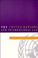 9780521583794: The United Nations and International Law