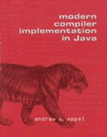 9780521583886: Modern Compiler Implementation in Java