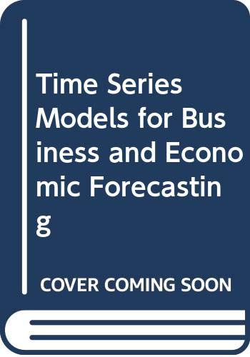 9780521584043: Time Series Models for Business and Economic Forecasting (Themes in Modern Econometrics)