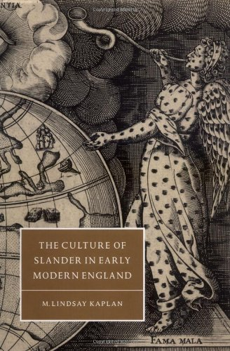 9780521584081: The Culture of Slander in Early Modern England (Cambridge Studies in Renaissance Literature and Culture)