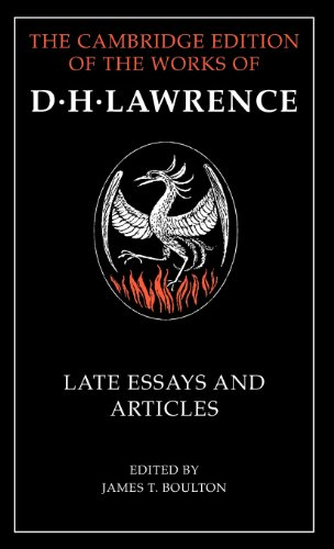 9780521584319: D. H. Lawrence: Late Essays and Articles (The Cambridge Edition of the Works of D. H. Lawrence)