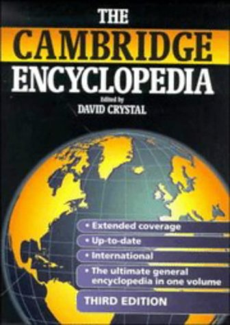 9780521584593: The Cambridge Encyclopedia