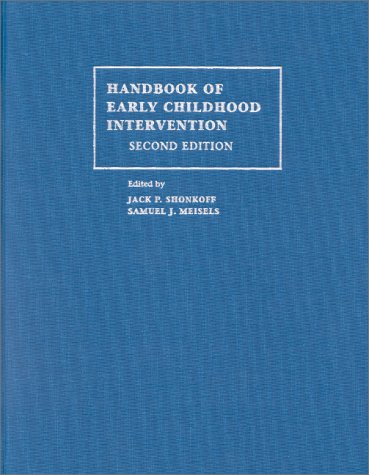 9780521584715: Handbook of Early Childhood Intervention