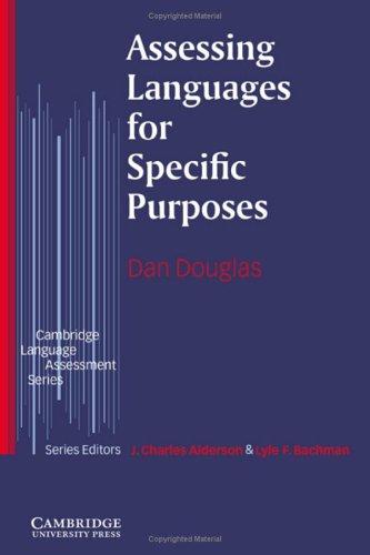 9780521584951: Assessing Languages for Specific Purposes (Cambridge Language Assessment)