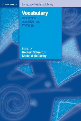 9780521585514: Vocabulary: Description, Acquisition and Pedagogy (Cambridge Language Teaching Library)