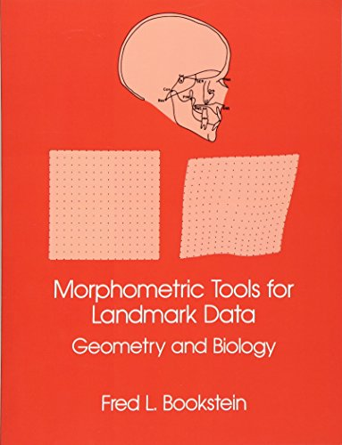 9780521585989: Morphometric Tools Landmark Data: Geometry and Biology