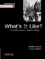 9780521586610: What's It Like? Teacher's book: Life and Culture in Britain Today
