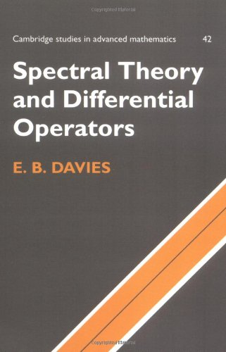 9780521587105: Spectral Theory and Differential Operators (Cambridge Studies in Advanced Mathematics)