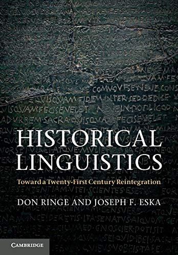 9780521587112: Historical Linguistics Paperback (Cambridge Textbooks in Linguistics)