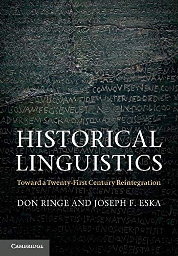 9780521587112: Historical Linguistics: Toward a Twenty-First Century Reintegration