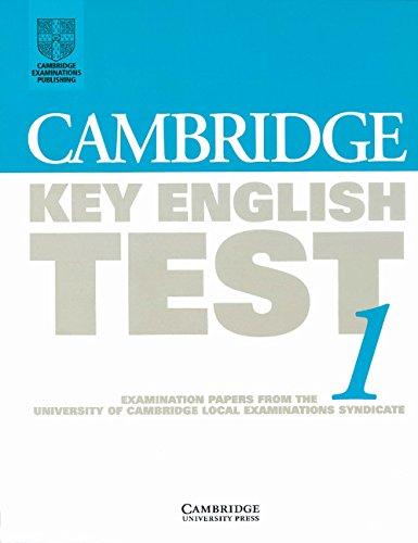 9780521587297: Cambridge Key English Test 1 Student's book: Examination Papers from the University of Cambridge Local Examinations Syndicate