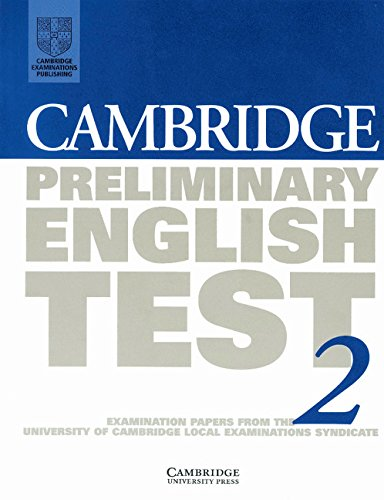 9780521587327: Cambridge Preliminary English Test 2 Student's book: Examination Papers from the University of Cambridge Local Examinations Syndicate