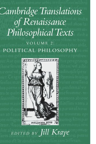 Cambridge Translations of Renaissance Philosophical Texts