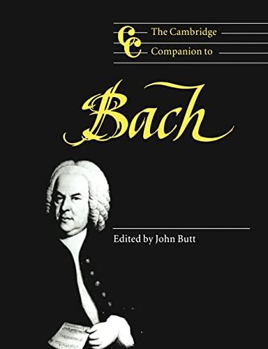 9780521587808: The Cambridge Companion to Bach Paperback (Cambridge Companions to Music)