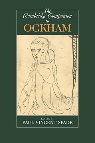 9780521587907: The Cambridge Companion to Ockham (Cambridge Companions to Philosophy)