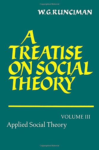 9780521588010: A Treatise on Social Theory: Volume 3