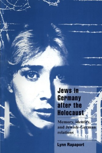 9780521588096: Jews in Germany after the Holocaust: Memory, Identity, and Jewish-German Relations (Cambridge Cultural Social Studies)