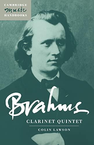 9780521588317: Brahms: Clarinet Quintet (Cambridge Music Handbooks)