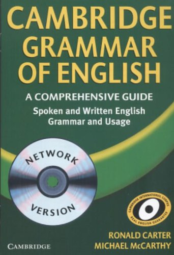 9780521588454: Cambridge Grammar of English Network CD-ROM: A Comprehensive Guide