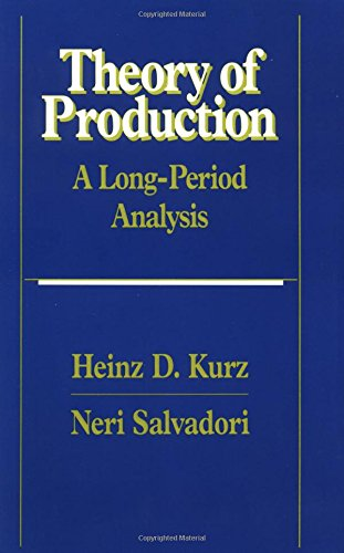 9780521588676: Theory of Production: A Long-Period Analysis