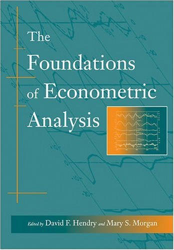 9780521588706: The Foundations of Econometric Analysis