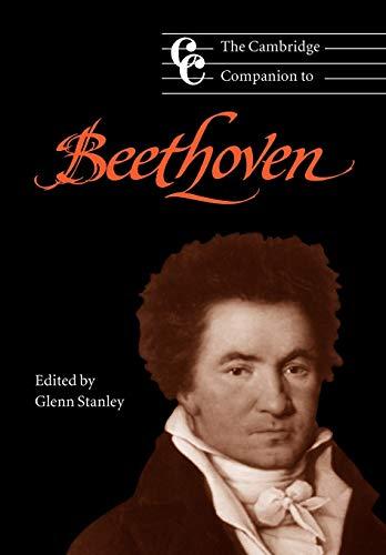 9780521589345: The Cambridge Companion to Beethoven Paperback (Cambridge Companions to Music)
