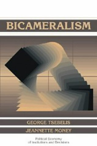9780521589727: Bicameralism Paperback (Political Economy of Institutions and Decisions)