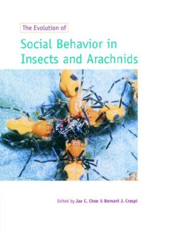 9780521589772: The Evolution of Social Behaviour in Insects and Arachnids