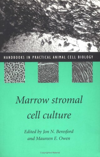 9780521589789: Marrow Stromal Cell Culture (Handbooks in Practical Animal Cell Biology)
