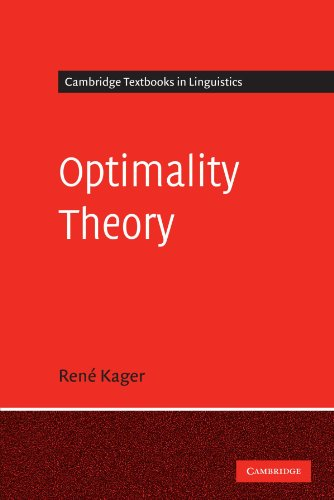 Optimality Theory Cambridge Textbooks In Linguistics By border=