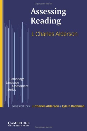 9780521590006: Assessing Reading (Cambridge Language Assessment)