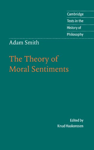 9780521591508: Adam Smith: The Theory of Moral Sentiments