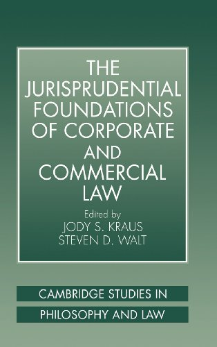 9780521591577: The Jurisprudential Foundations of Corporate and Commercial Law (Cambridge Studies in Philosophy and Law)