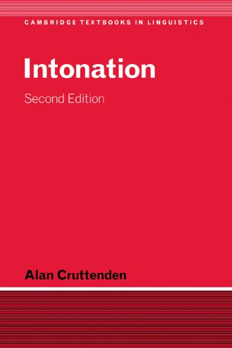 9780521591829: Intonation (Cambridge Textbooks in Linguistics)