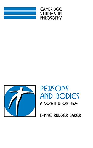 9780521592635: Persons and Bodies: A Constitution View