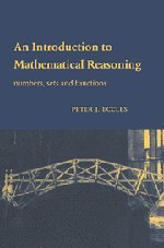9780521592697: An Introduction to Mathematical Reasoning Hardback: Numbers, Sets and Functions